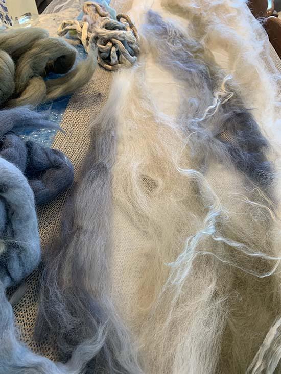 Carole Watson Nuno Felt Wool Scarf ~ 02